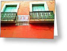 Calle Tetuan Greeting Card