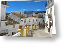 Calle Tipica Greeting Card