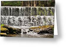 Callens Run Waterfall Greeting Card