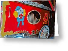Calliope Wagon Greeting Card