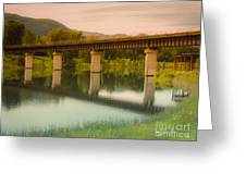 Calm Afternoon Greeting Card