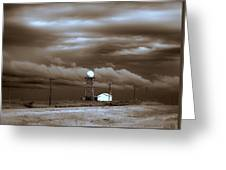 Calm Before The Storm Greeting Card
