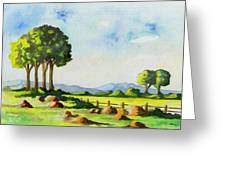 Calm Day Greeting Card