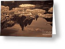 Calm Day In Patagonia Greeting Card