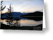 Calm Evening Greeting Card