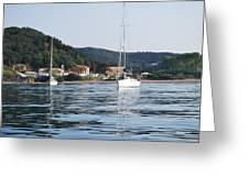 Calm Sea 2 Greeting Card