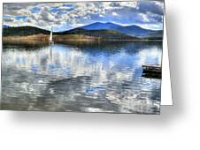 Calm Waters Greeting Card by Sergio Aguayo