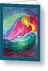 Calming Angel Greeting Card