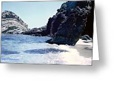 Calming Waves Greeting Card