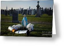 Calvary Cemetery Greeting Card