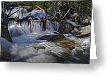 Calypso Cascades Greeting Card by Tom Wilbert