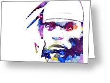 Cam Newton - Doc Braham - All Rights Reserved Greeting Card