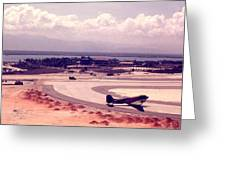 Cam Rahn Bay Airfield Greeting Card