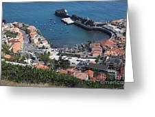 Camara Da Lobos Madeira Greeting Card