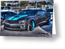 Camaro 1ss Coupe Greeting Card
