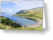 Camas Nan Geall Ardnamurchan Scotland Greeting Card