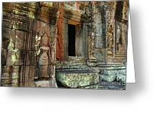Cambodia Angkor Wat 2 Greeting Card