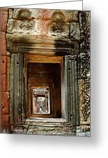 Cambodia Angkor Wat 5 Greeting Card