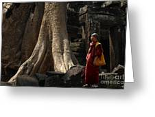 Cambodia Angkor Wat 7 Greeting Card