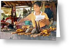 Cambodian Life 09 Greeting Card