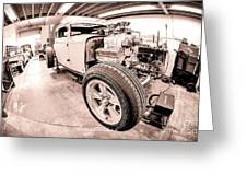 Cambra Speed Shop Greeting Card