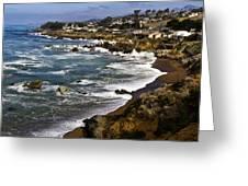 Cambria Coastline Greeting Card