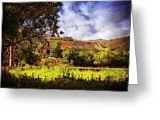 Cambria Farmland Greeting Card