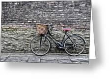 Cambridge Bike 3 Greeting Card