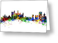 Cambridge England Greeting Card