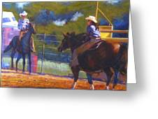 Camden Cowboy And Cowgirl Greeting Card