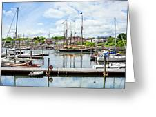 Camden Marina Greeting Card