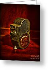 Camera - Bell And Howell Film Camera Greeting Card