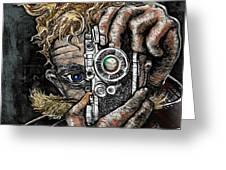 Camera Eye Greeting Card