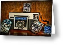 Camera - Kodak Instamatic Greeting Card