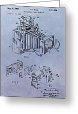 Camera Patent Greeting Card