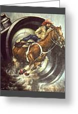 Camera Rodeo - Western Art Greeting Card