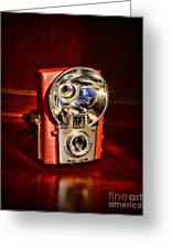 Camera - Vintage Brownie Starflash Greeting Card