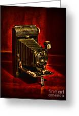 Camera - Vintage Kodak Pocket Camera Greeting Card