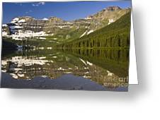 Cameron Lake Greeting Card