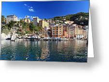 Camogli From The Sea Greeting Card