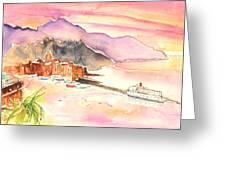 Camogli In Italy 06 Greeting Card