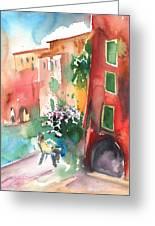 Camogli In Italy 12 Greeting Card