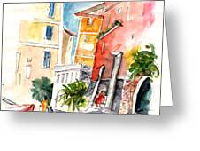 Camogli In Italy 13 Greeting Card