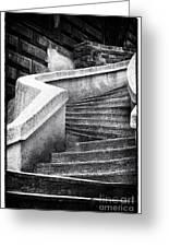 Camondo Stairs Greeting Card