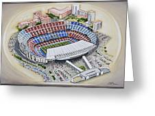 Camp Nou - Barcelona Fc Greeting Card