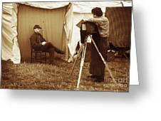 Camp Photographer Greeting Card