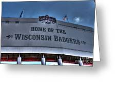 Camp Randall Stadium Greeting Card