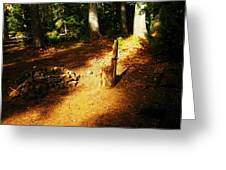 Camp Site Greeting Card