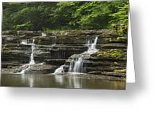 Campbell Falls 5 Greeting Card