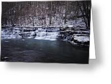 Campbell Falls Greeting Card
